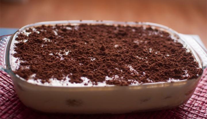 Delicious brown sugar tiramisu