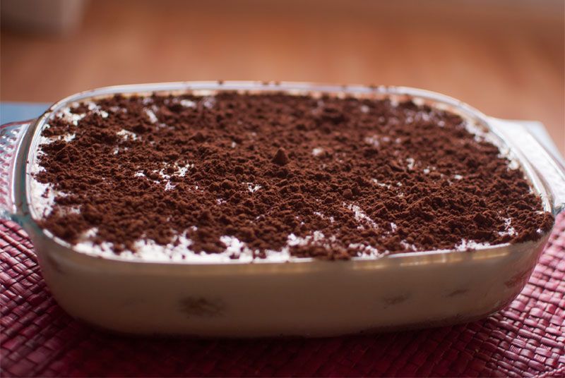 Delicious brown sugar tiramisu