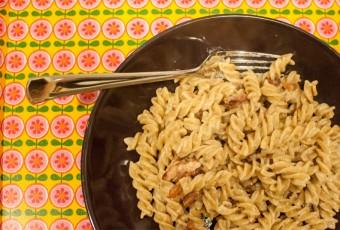 Valérie's spaghetti Carbonara