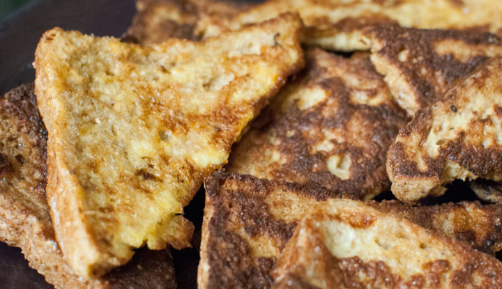 Tostadas francesas *** French toast
