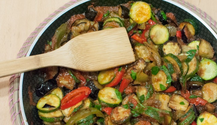 Homemade French ratatouille