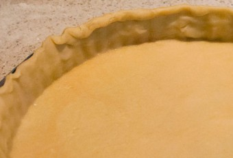 Short pastry for pies