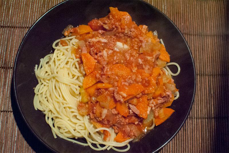 Delicious Homemade Spaghetti Bolognese