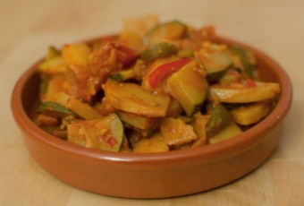 Spanish vegetable stew