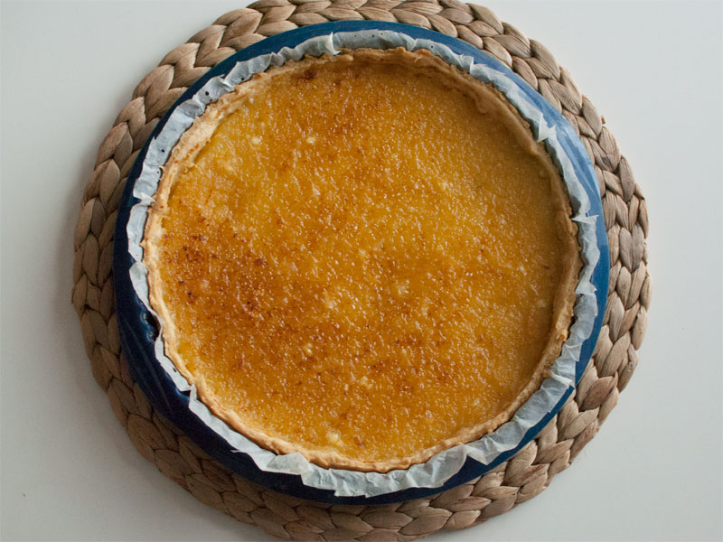 Tarta de limón, receta de mi abuela