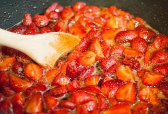 mermelada de fresa casera