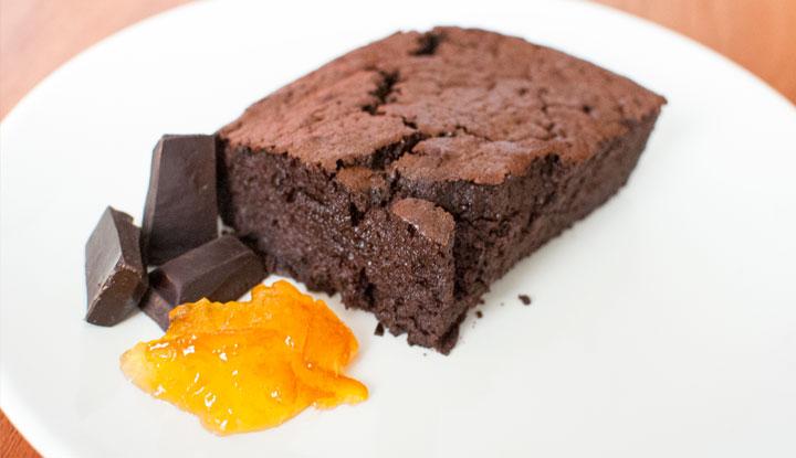 Moelleux de chocolate