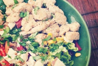 Big chicken salad