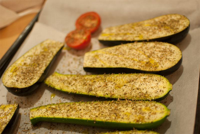 Verduras a la parilla