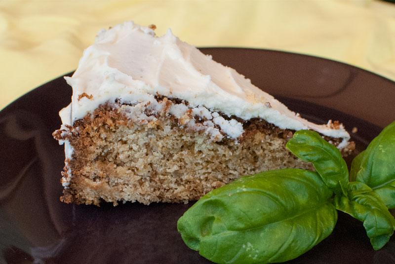 Ricotta and lemon cake