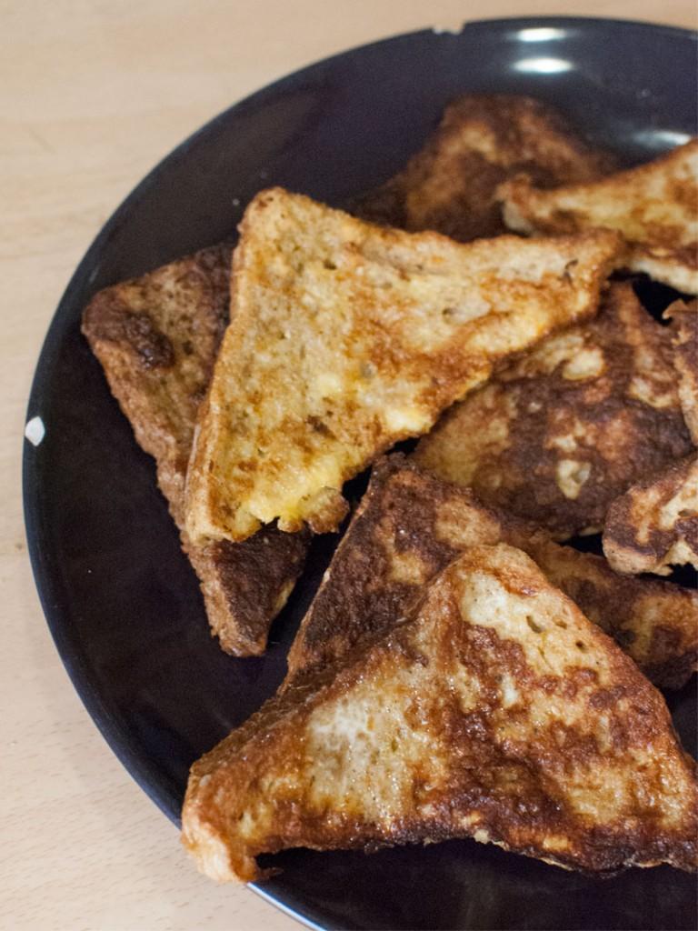 Tostadas francesas *** French toast