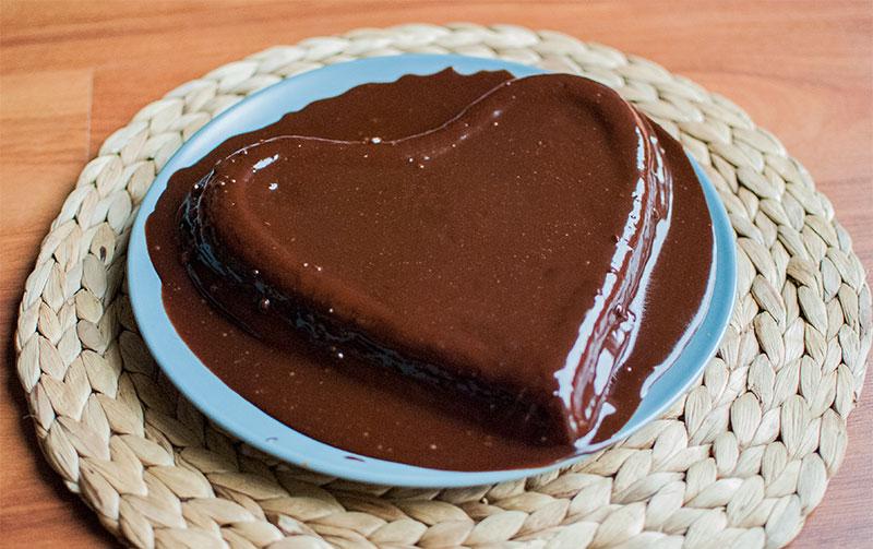 My Valentine's Day chocolate cake