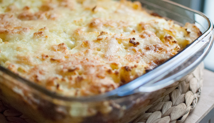 Hachis parmentier or French Shepherd's pie
